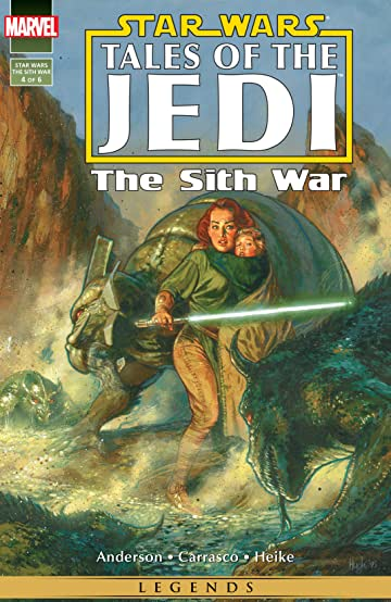 Star Wars: Tales of the Jedi - The Sith War (1995-1996) #4 (of 6)