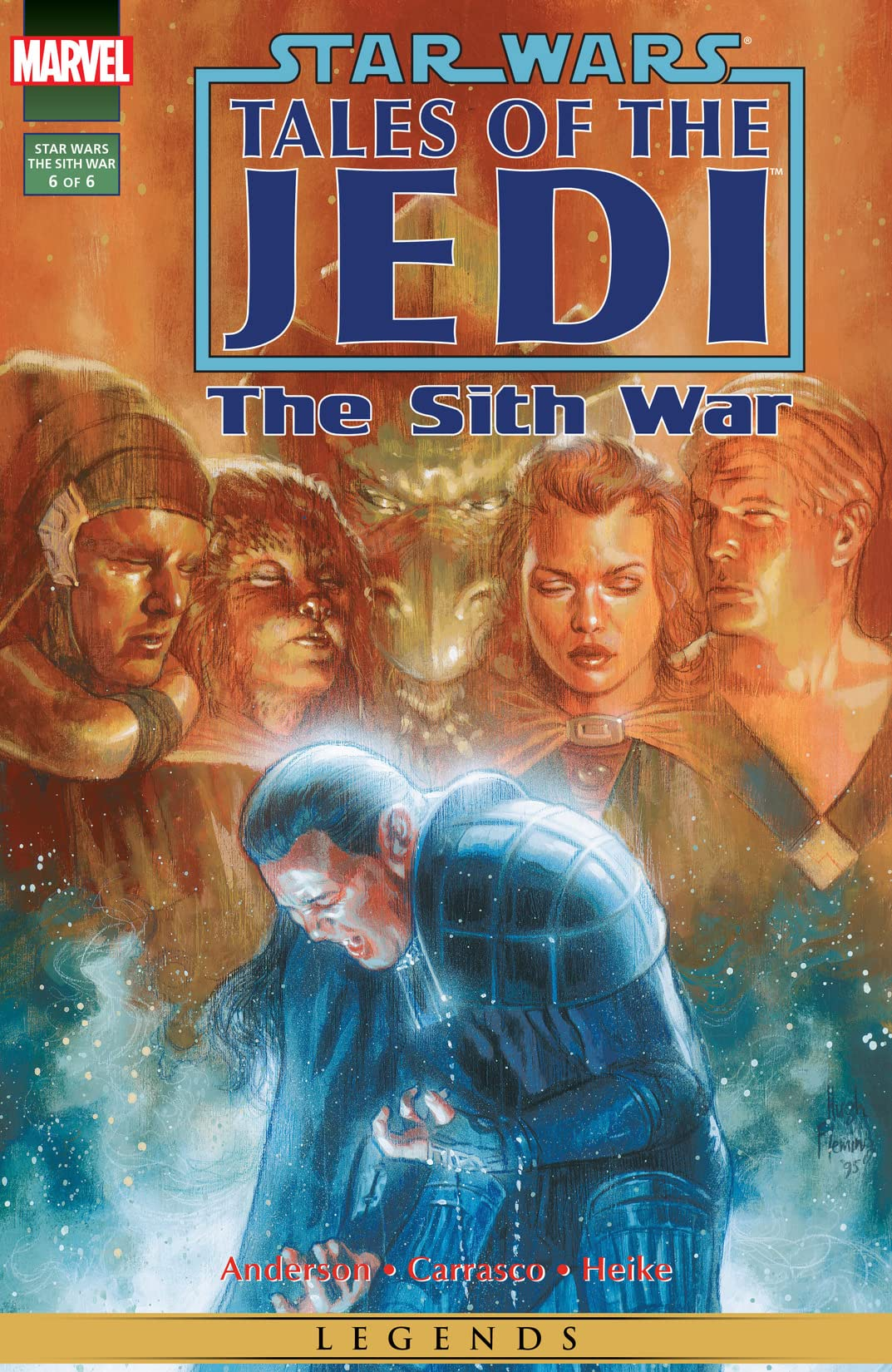 Star Wars: Tales of the Jedi - The Sith War (1995-1996) #6 (of 6)