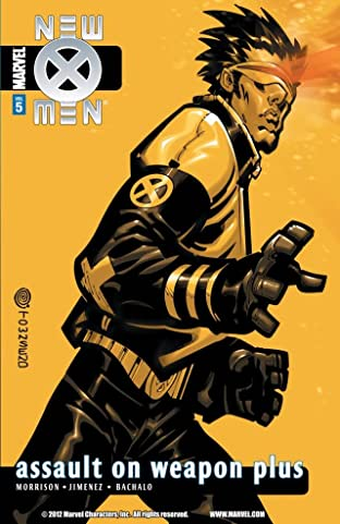 New X-Men By Grant Morrison Tome 5: Assault on Weapon Plus