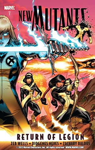 New Mutants Tome 1: Return of Legion