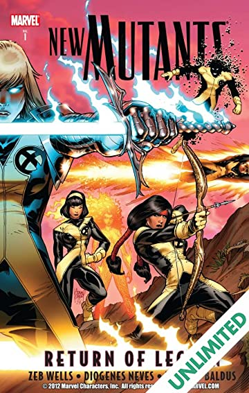 New Mutants Vol. 1: Return of Legion