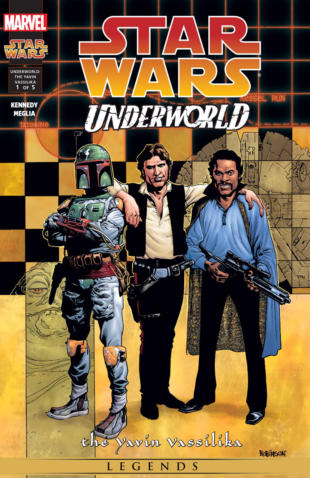Star Wars: Underworld - The Yavin Vassilika (2000-2001) #1 (of 5)