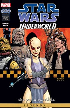 Star Wars: Underworld - The Yavin Vassilika (2000-2001) #2 (of 5)