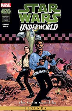 Star Wars: Underworld - The Yavin Vassilika (2000-2001) #4 (of 5)