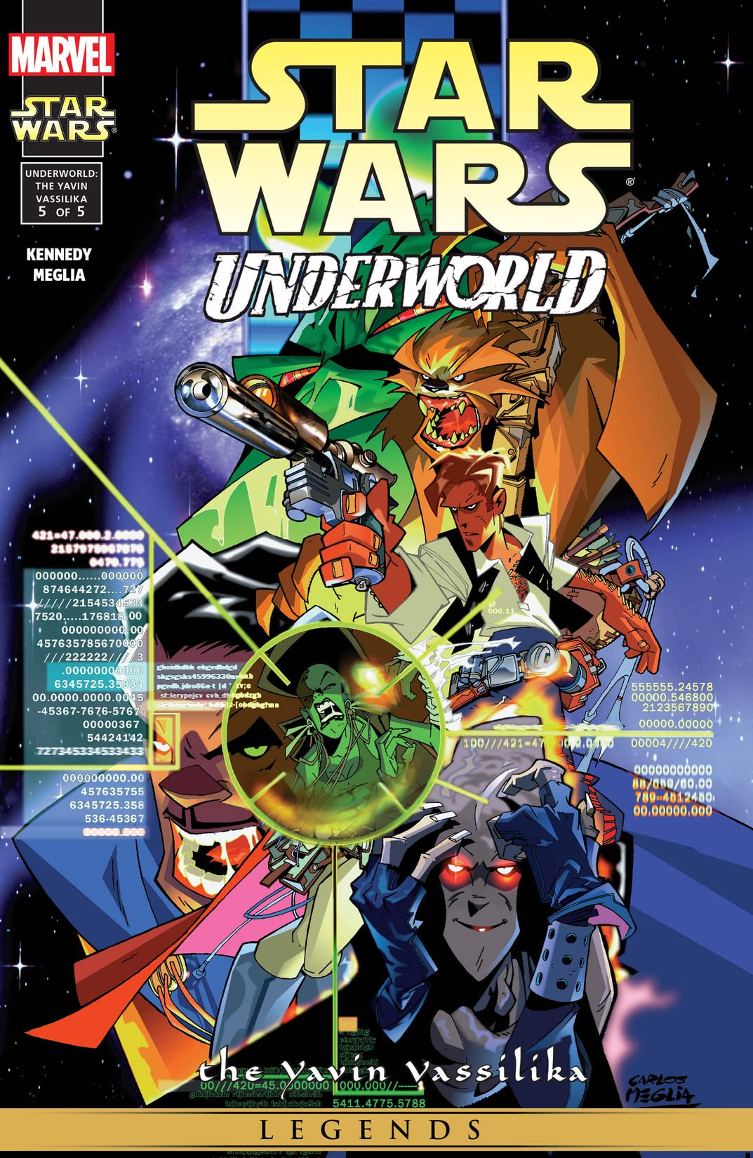 Star Wars: Underworld - The Yavin Vassilika (2000-2001) #5 (of 5)