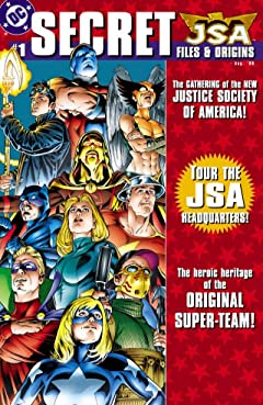 JSA: Secret Files & Origins No.1