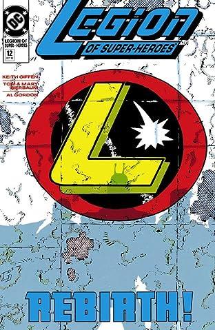 Legion of Super-Heroes (1989-2000) No.12