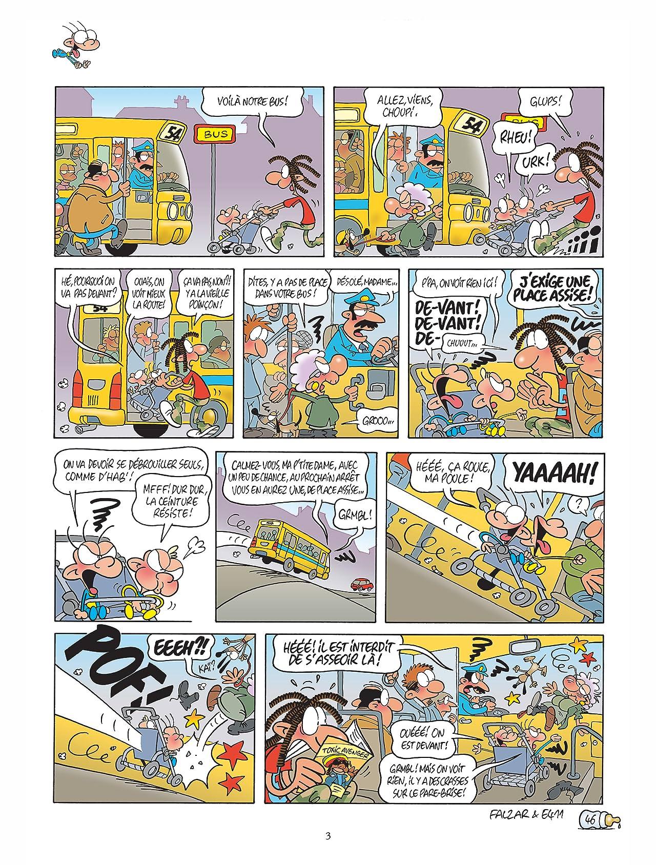 Edwin et les twins Vol. 2: Tsunamis à roulettes