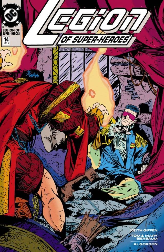 Legion of Super-Heroes (1989-2000) #14