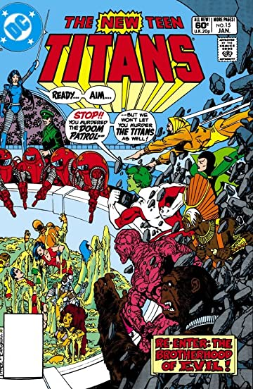 New Teen Titans (1980-1988) #15