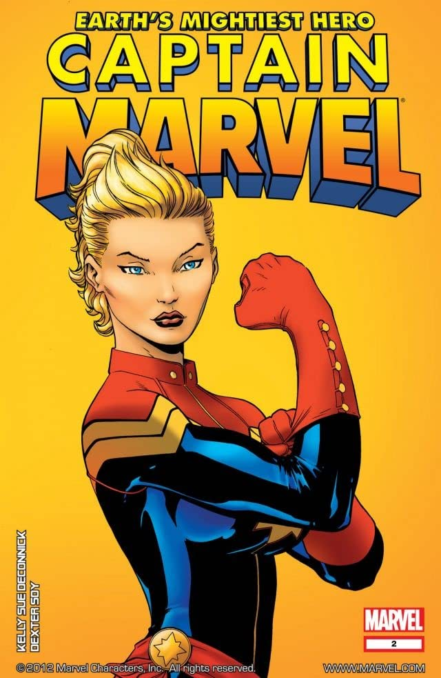 Captain Marvel (2012-2013) #2