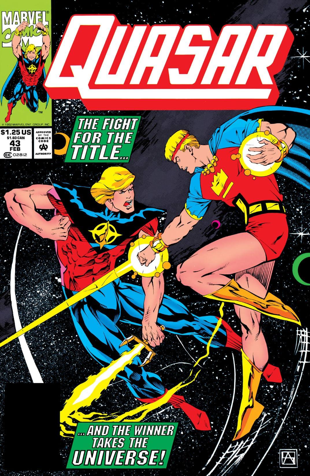 Quasar (1989-1994) #43
