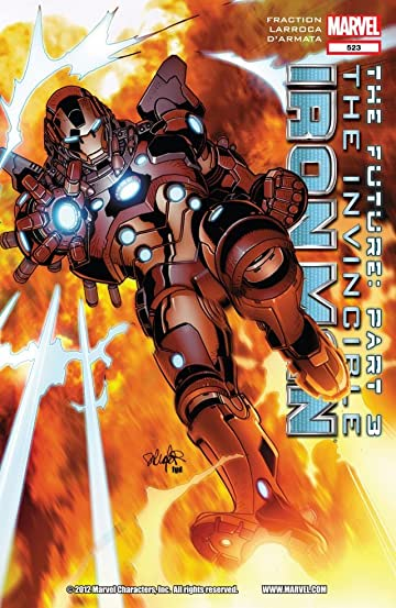 Invincible Iron Man (2008-2012) #523