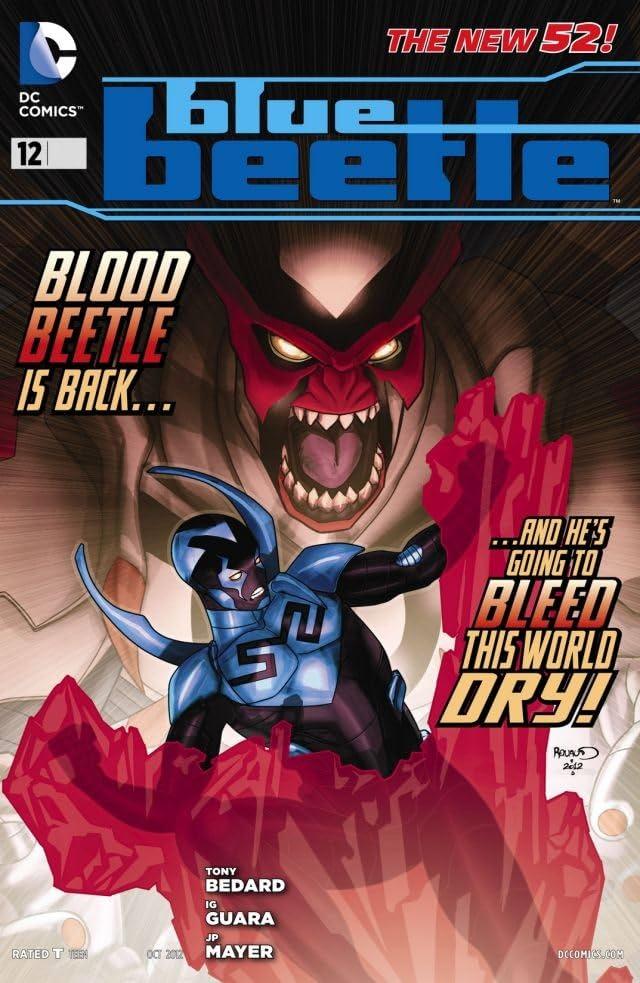 Blue Beetle (2011-2013) #12