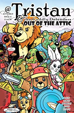 Tristan and the Cuddly Defenders #1
