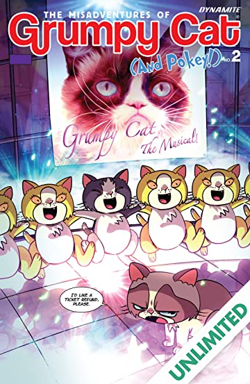 Grumpy Cat and Pokey Vol. 1 #2 (of 3): Digital Exclusive Edition