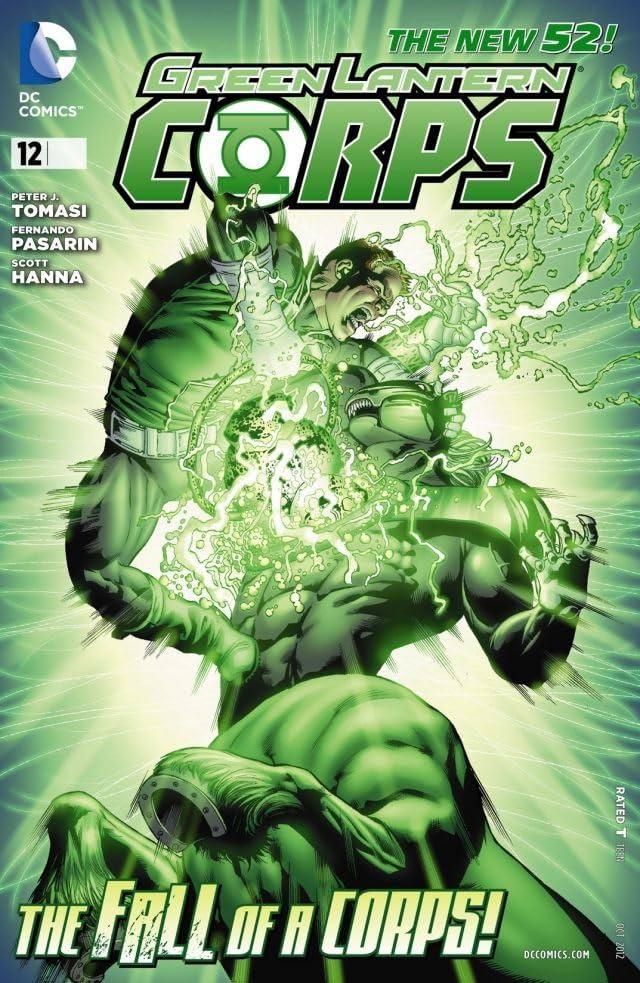 Green Lantern Corps (2011-2015) #12