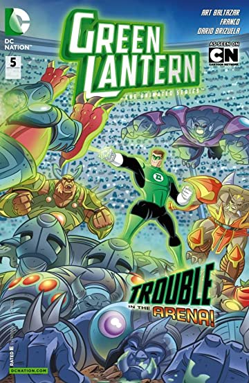 Green Lantern: The Animated Series #5