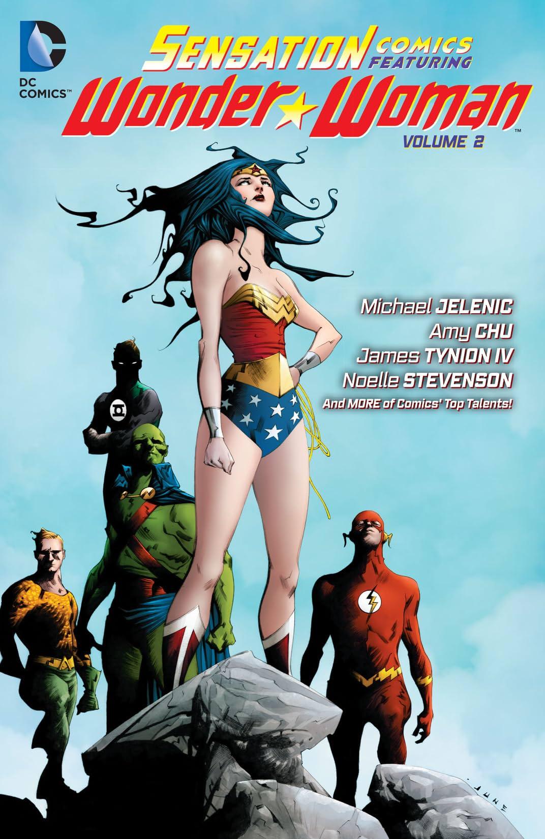 Sensation Comics Featuring Wonder Woman (2014-2015) Vol. 2