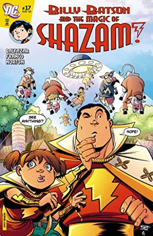 Billy Batson and the Magic of Shazam! No.17