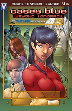 Casey Blue: Beyond Tomorrow #1 (of 6)