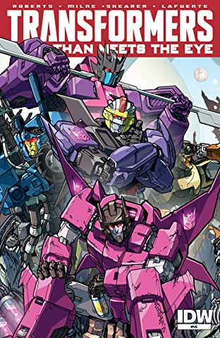 Transformers: More Than Meets the Eye (2011-) #45