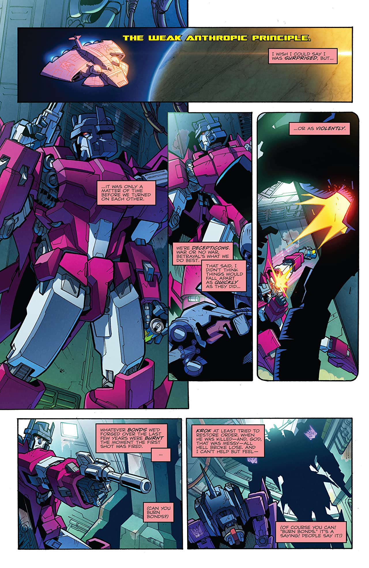Transformers: More Than Meets the Eye (2011-2016) #45