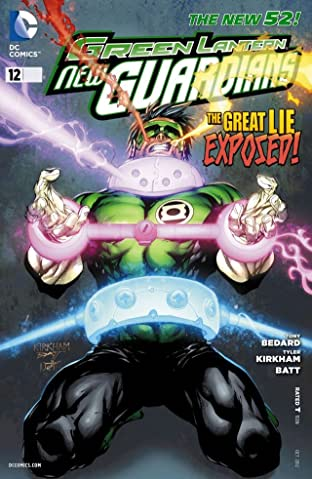 Green Lantern: New Guardians (2011-2015) No.12