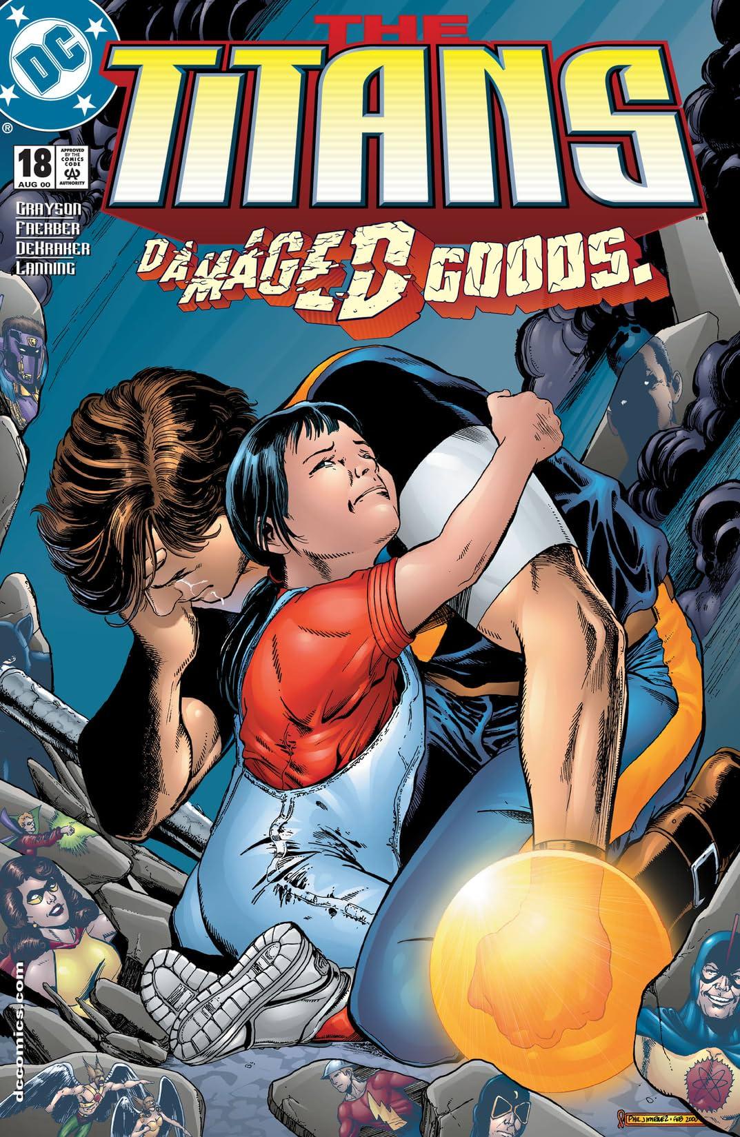 The Titans (1999-2003) #18