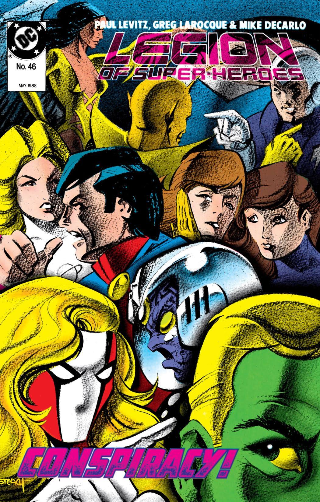 Legion of Super-Heroes (1984-1989) #46