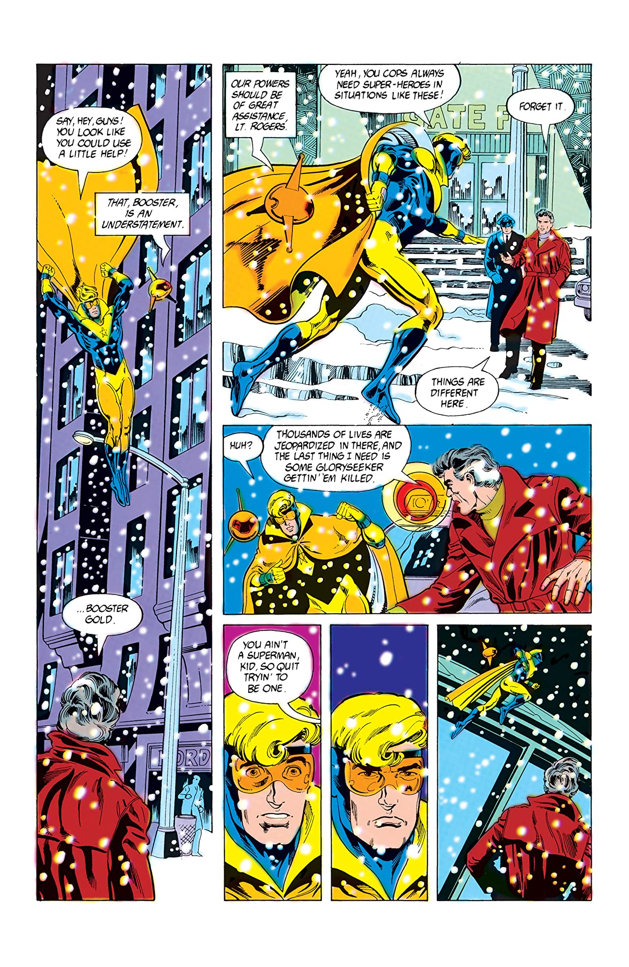 Booster Gold (1986-1988) #5