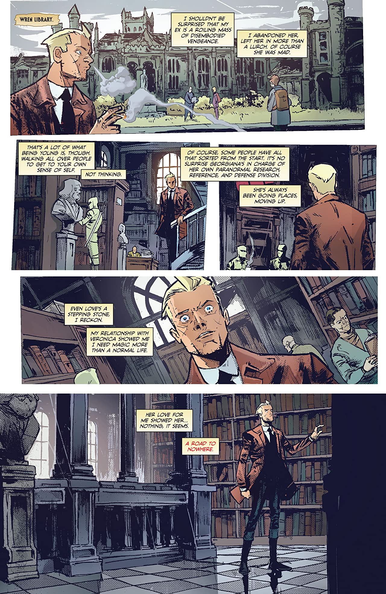 Constantine: The Hellblazer (2015-2016) #5
