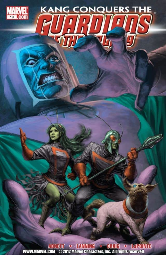 Guardians of the Galaxy (2008-2010) #19