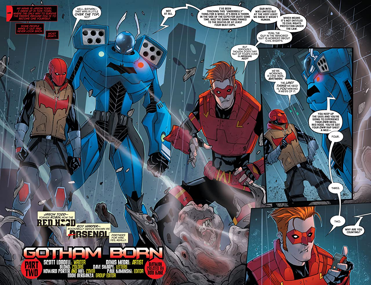 Red Hood/Arsenal (2015-2016) #5