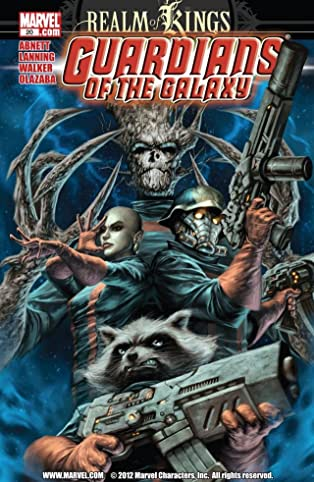 Guardians of the Galaxy (2008-2010) #20