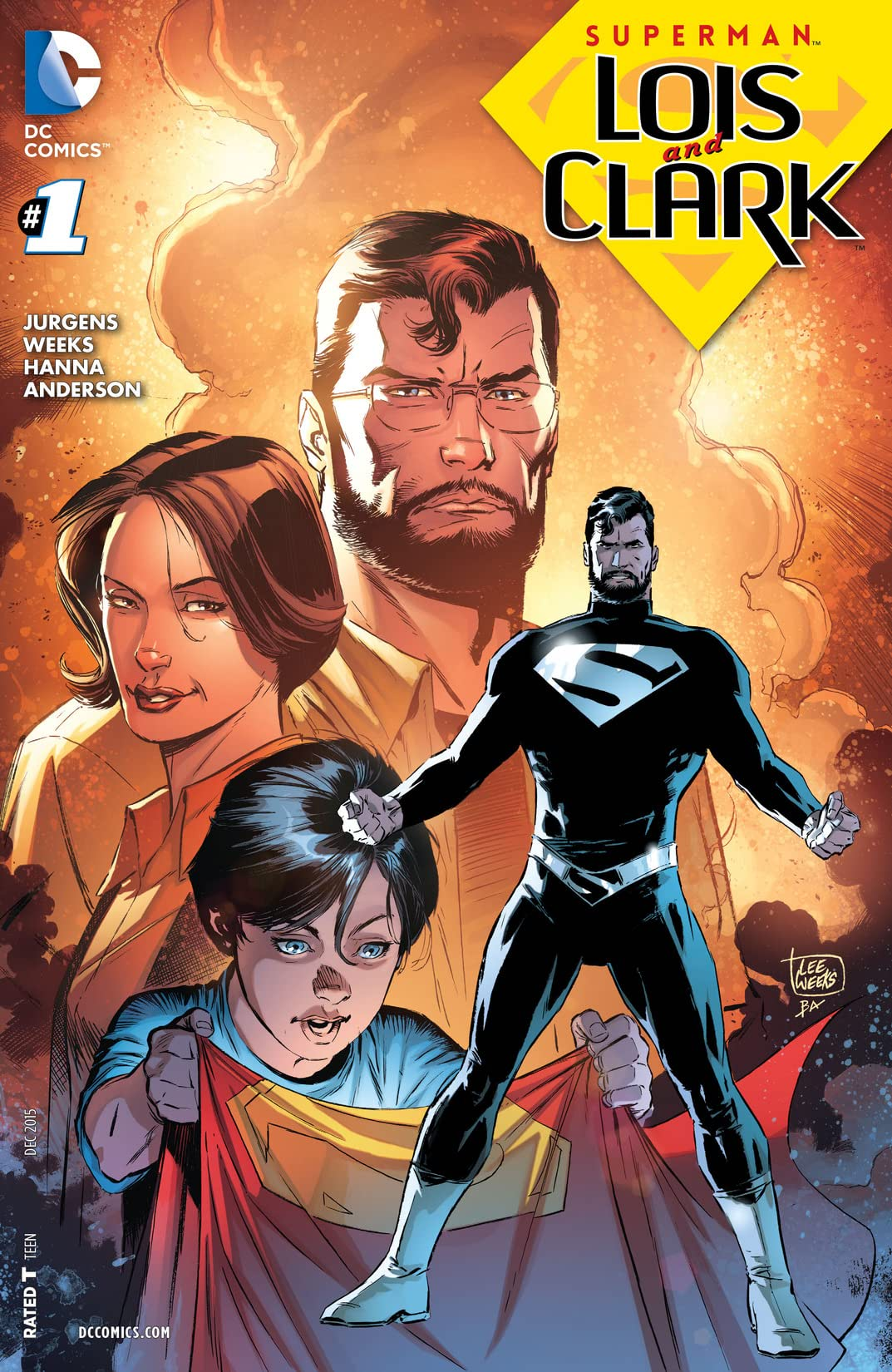 Superman: Lois and Clark (2015-2016) #1