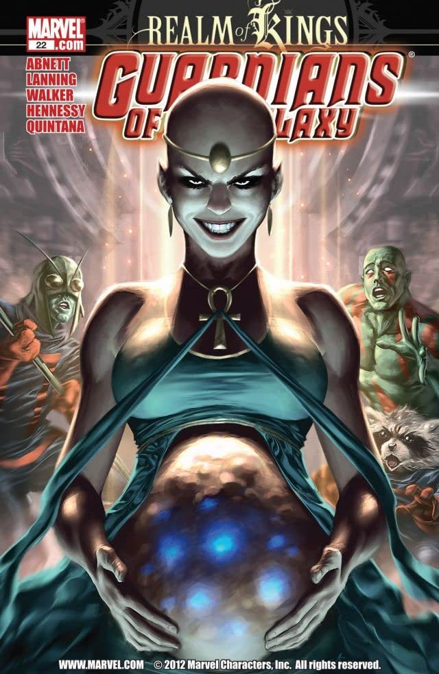 Guardians of the Galaxy (2008-2010) #22