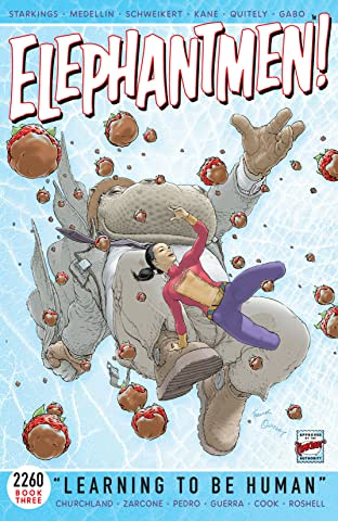 Elephantmen 2260 Tome 3: Learning To Be Human