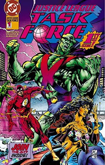 Justice League Task Force (1993-1996) #1