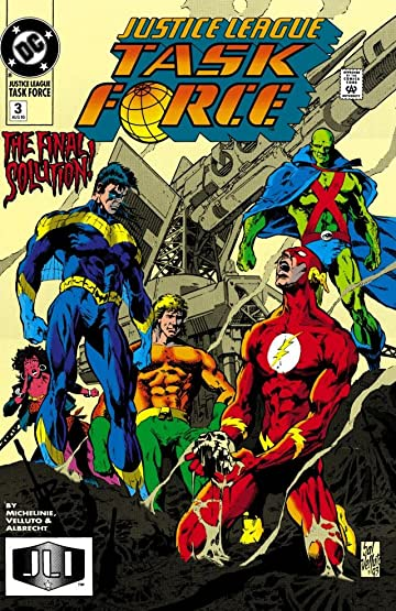 Justice League Task Force (1993-1996) #3