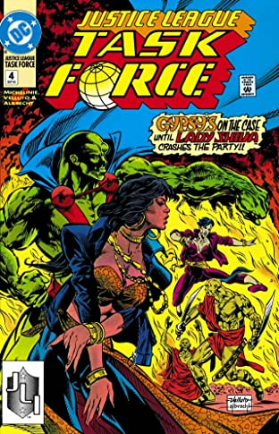 Justice League Task Force (1993-1996) No.4