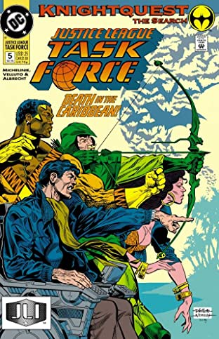 Justice League Task Force (1993-1996) No.5