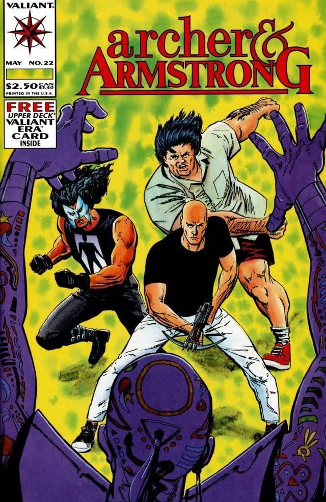 Archer & Armstrong (1992-1994) #22