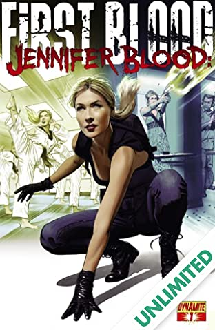 Jennifer Blood: First Blood #1