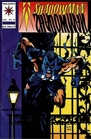Shadowman (1992-1995) No.10