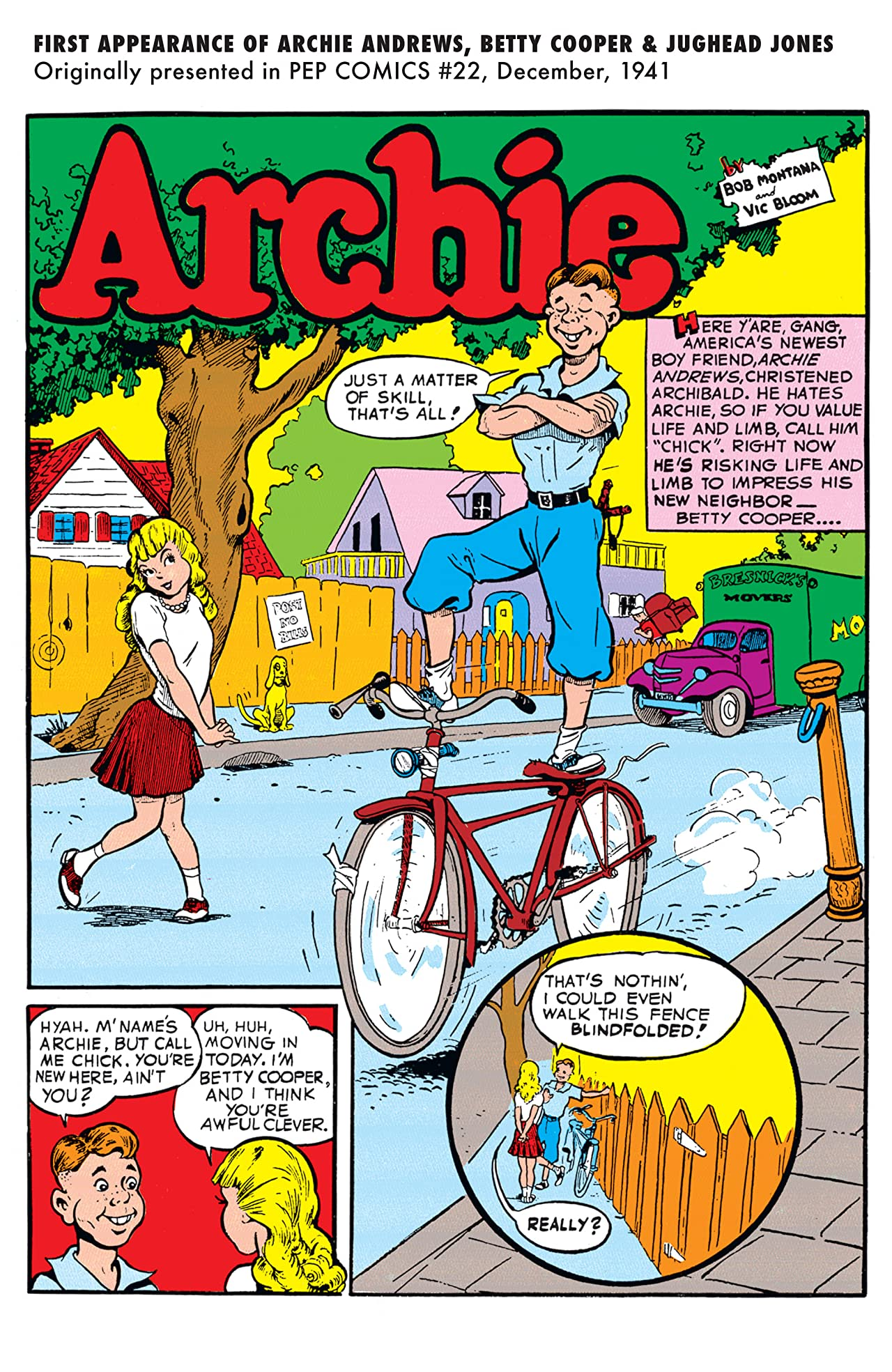 PEP Digital #177: Archie First Appearances