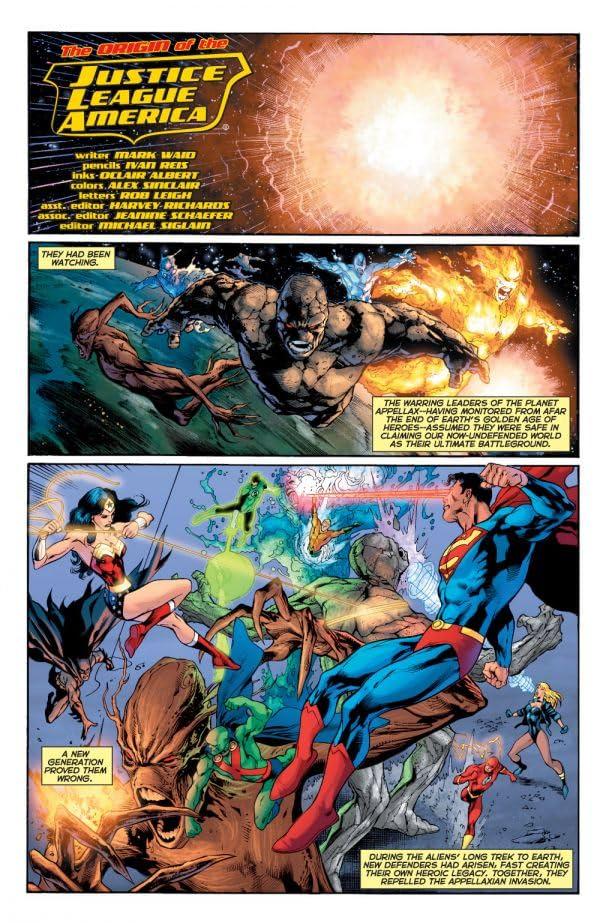 The Origin of the Justice League of America