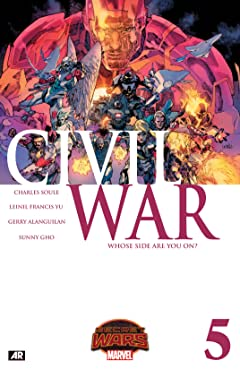 Civil War (2015) No.5