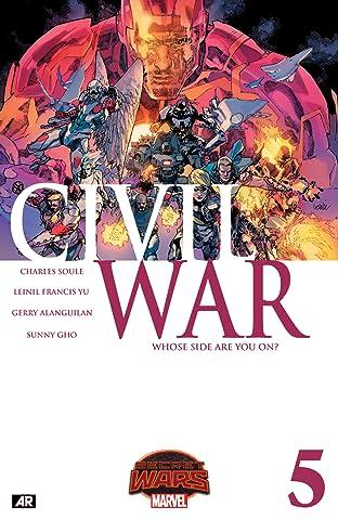 Civil War (2015) #5