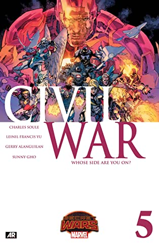 Civil War (2015) #5